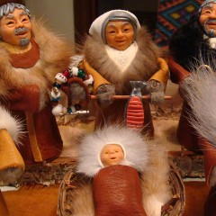 Alaskan Nativity Scene